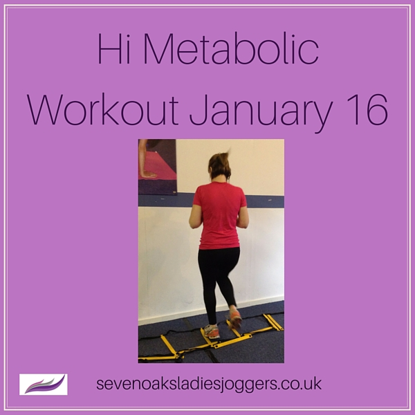 Sevenoaks Ladies Joggers Hi metabolic workout
