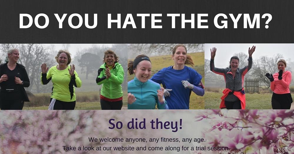 I hate the gym