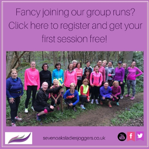 Ladies running group Sevenoaks