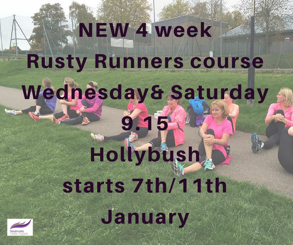Rusty Runner course Sevenoaks