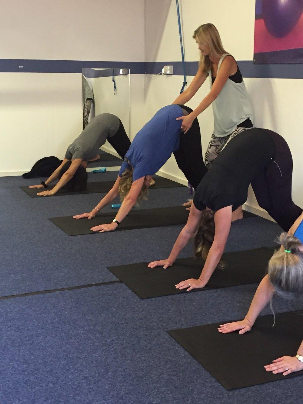 SLJ Yoga class Sevenoaks