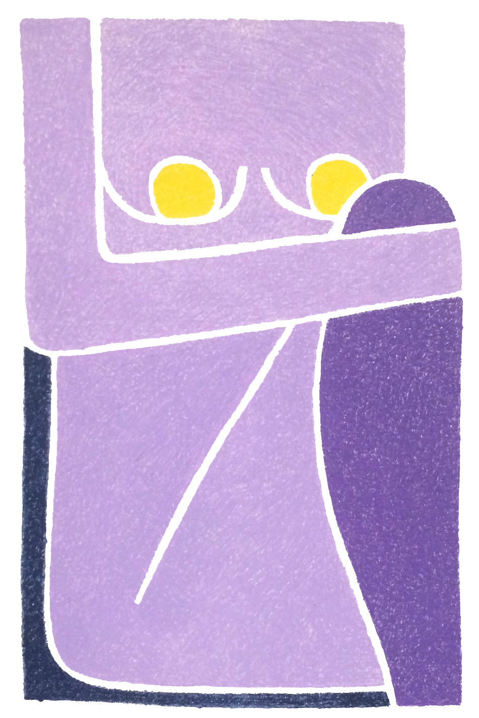 Purple Haze Monotype