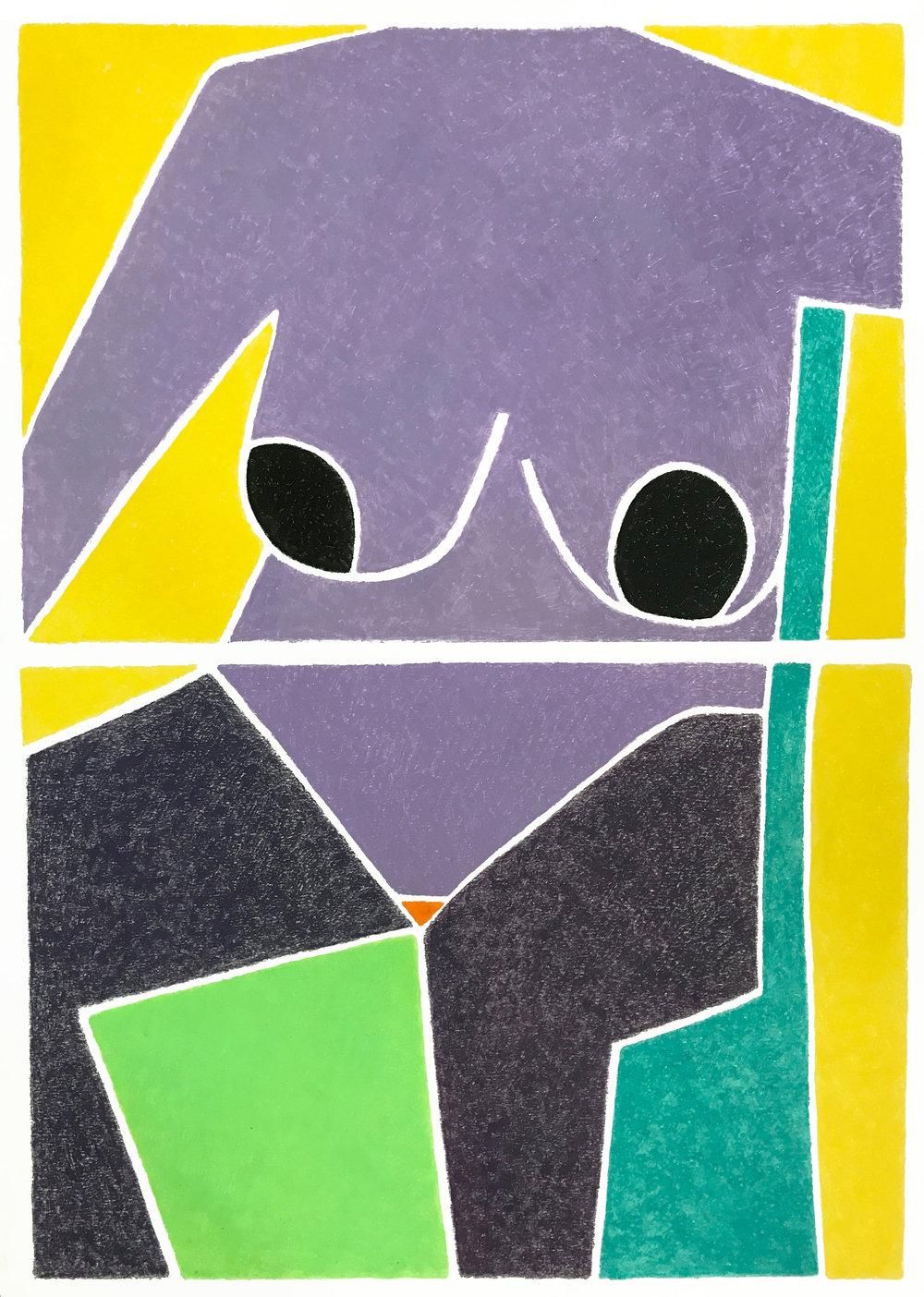 Orange Triangle Monotype