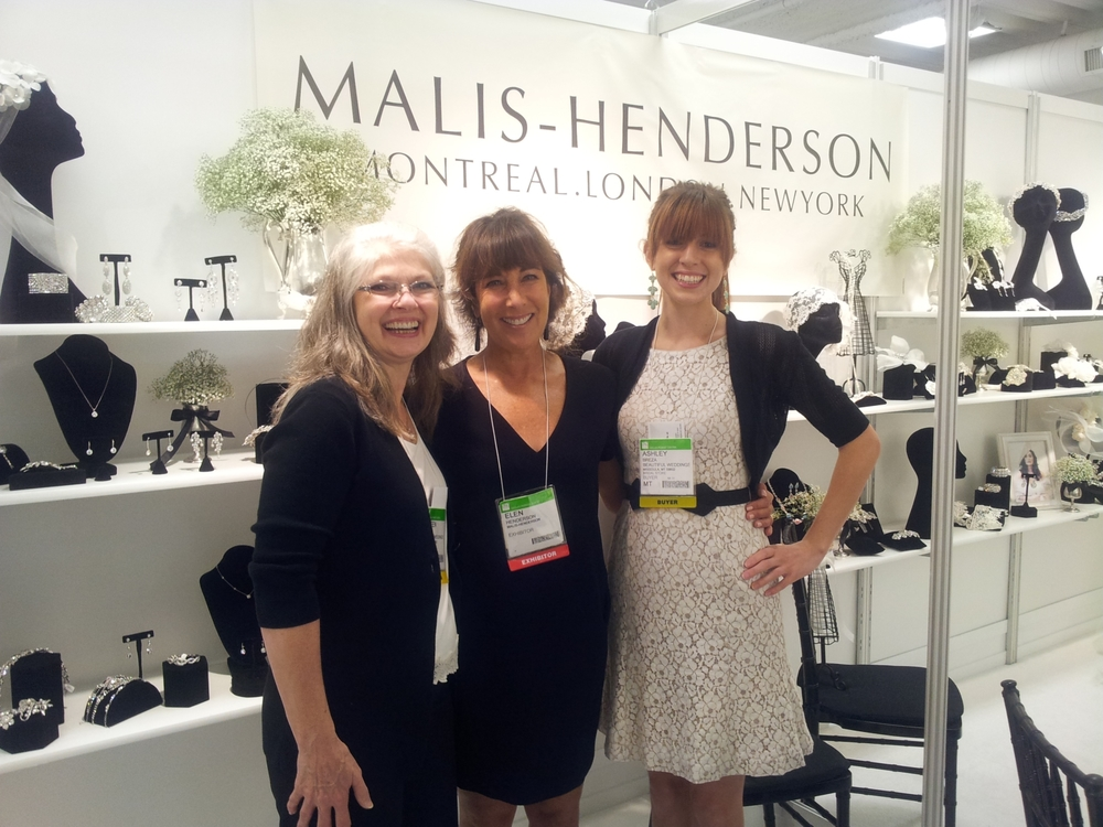 Elen welcomes Doreen and Ashley from Beautiful Weddings in Missoula, Montana to her booth at the Dallas Bridal Market. Visit their site at http://www.beautifulweddingsbridal.com/
