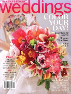 Martha Stewart Weddings - Spring 2015