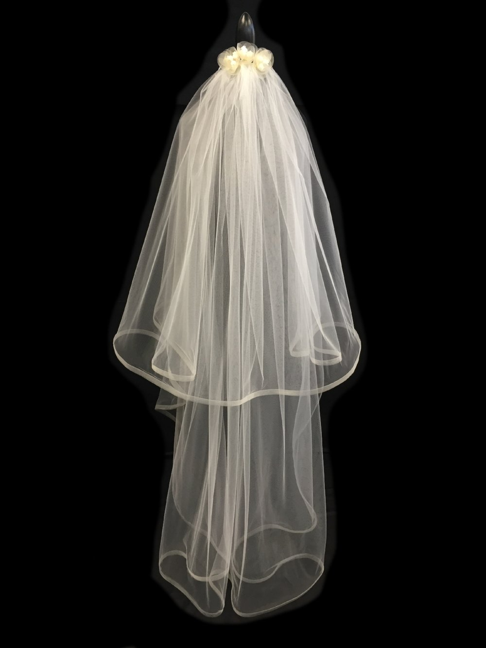 Style V5678-DI _ 35-60x108 Mohair Braid Trimmed Veil