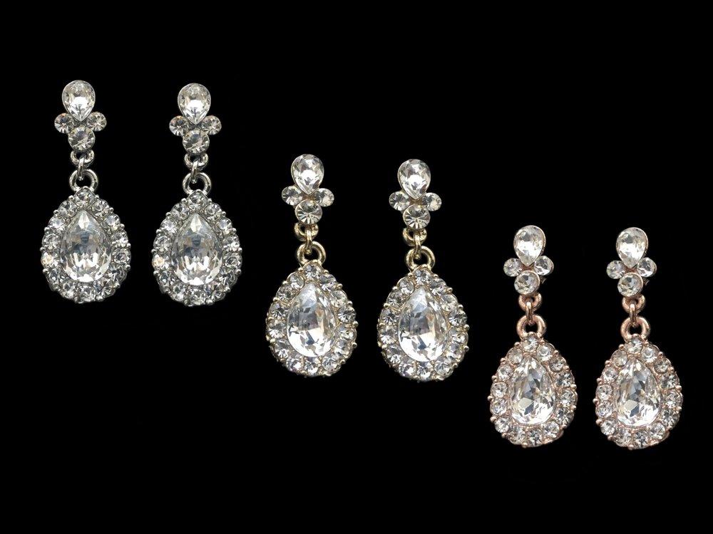 "Style 7897ER-I Silver, Gold, or Rose Gold   1¼"""