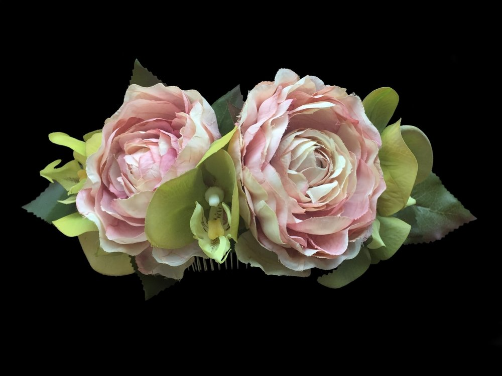 """Style 7929-DI (8"""") - """"True Touch Flowers"""""""
