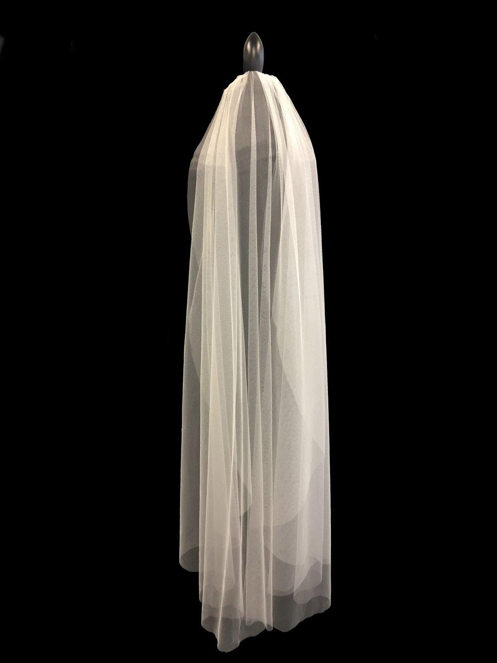 Style V5778-D __ 60x108 -  Faux Silk Veil