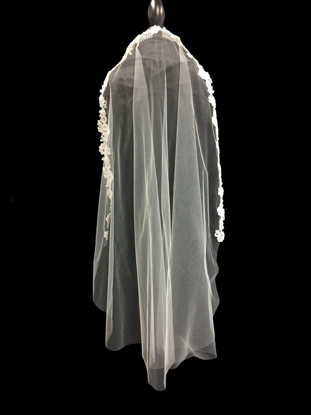 Style V5787-D __  42x72 - French Alençon Lace