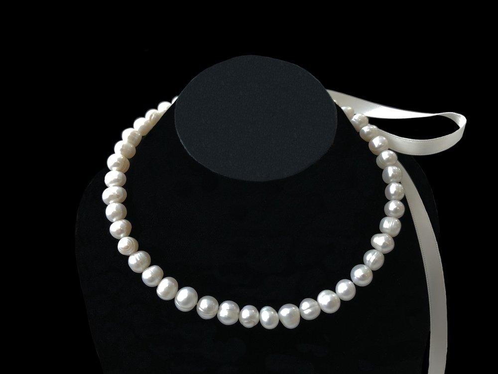 Style 8063NLFWP-D  - Fresh Water Pearls