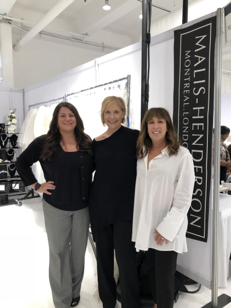 Francesca and her daughter Kara from   Francesca's Bridal   in Lutherville MD with Elen. Friends and customers for 20 years. Always appreciated.
