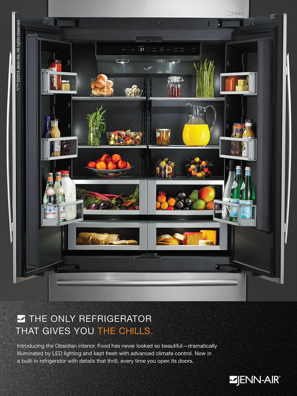 Inspired Appliances Sexy Refrigeration Yes Really Crosstown Collection