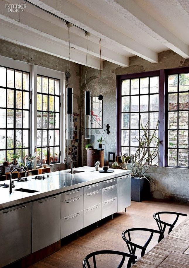 Inspired Materials :: Steel Frame Windows — Crosstown Collection