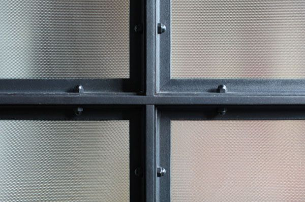 Inspired materials steel frame windows crosstown for Steel windows
