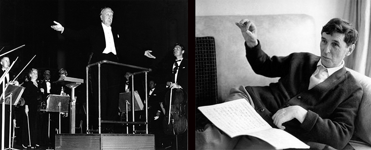 William Walton                                                                  Michael Tippett