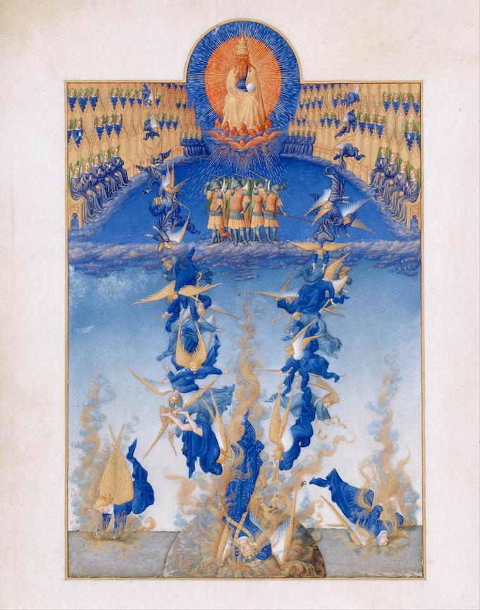 Frères Limbourg - Très Riches Heures du duc de Berry - chute des anges.jpg