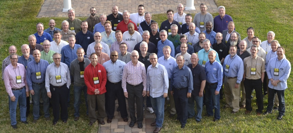 Pictured here are the men on our staff who attended FUEL, our annual meeting, for advanced training at the end of February.