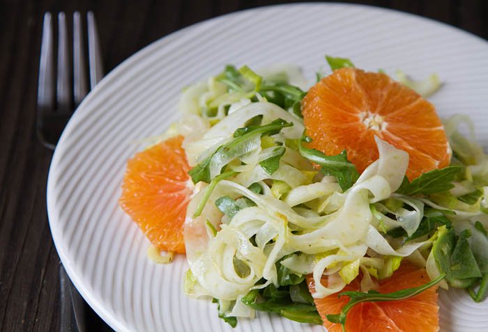 SHAVED FENNEL/ZUCCHINI SALAD