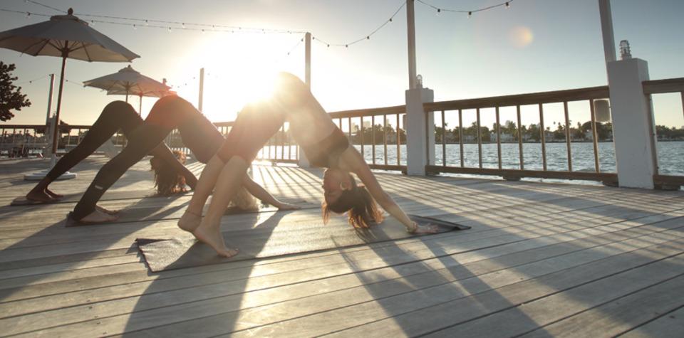 Yoga on The Beach South Beach Yoga Classes Miami Beach