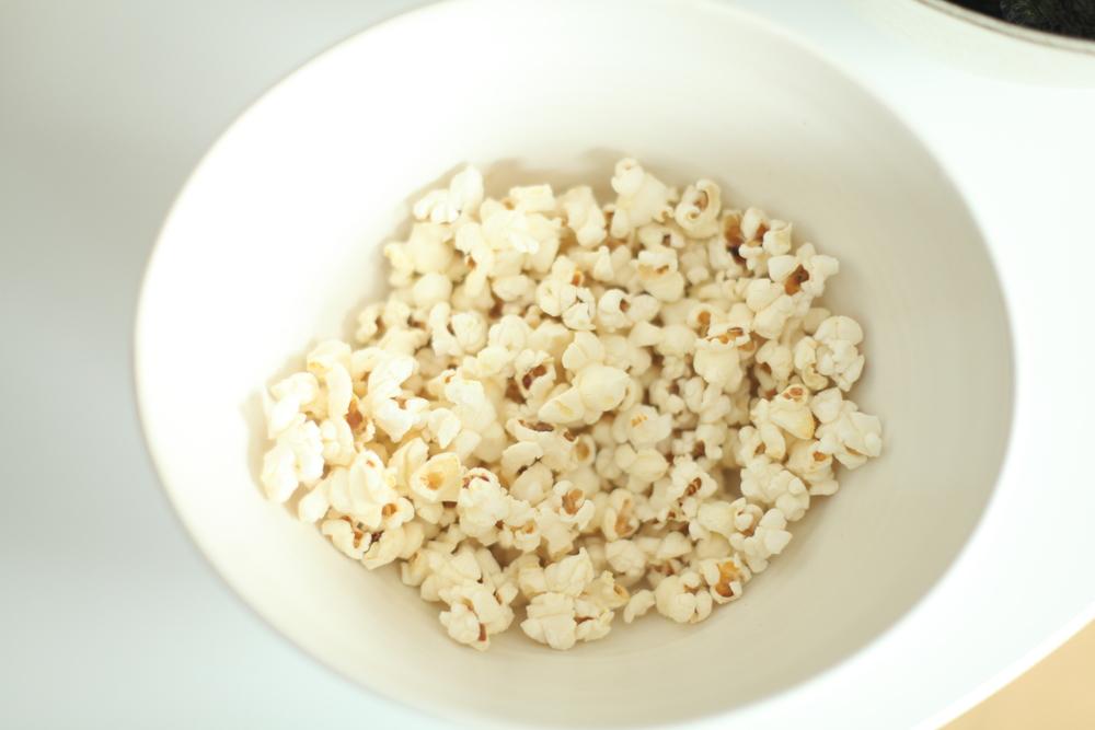 Carol's stovetop popcorn