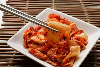 Kimchi (Fermented cabbage)