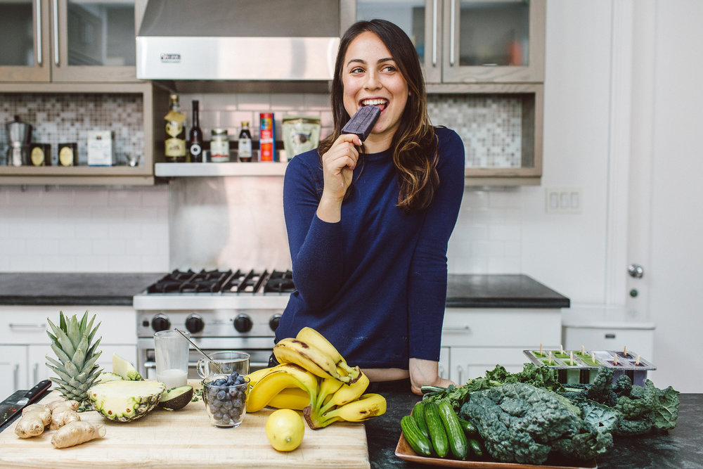 IN THE KITCHEN: SOPHIA MILROM OF EAT POPS