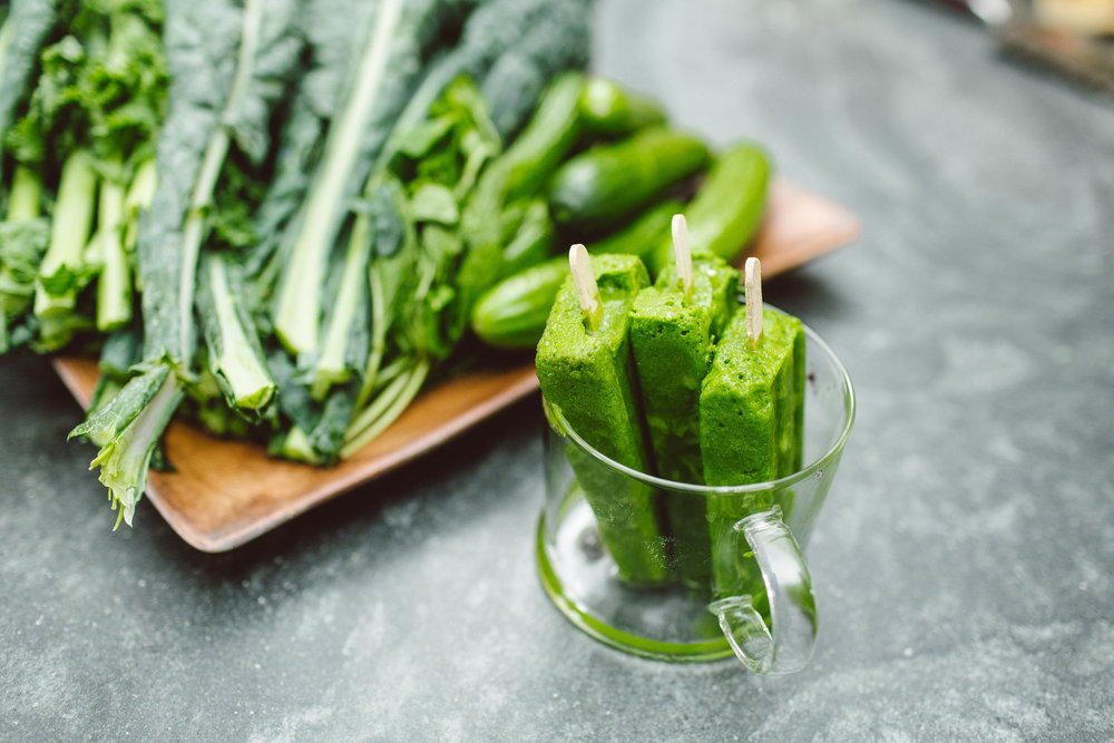 SOPHIE'S GREEN JUICE POPS