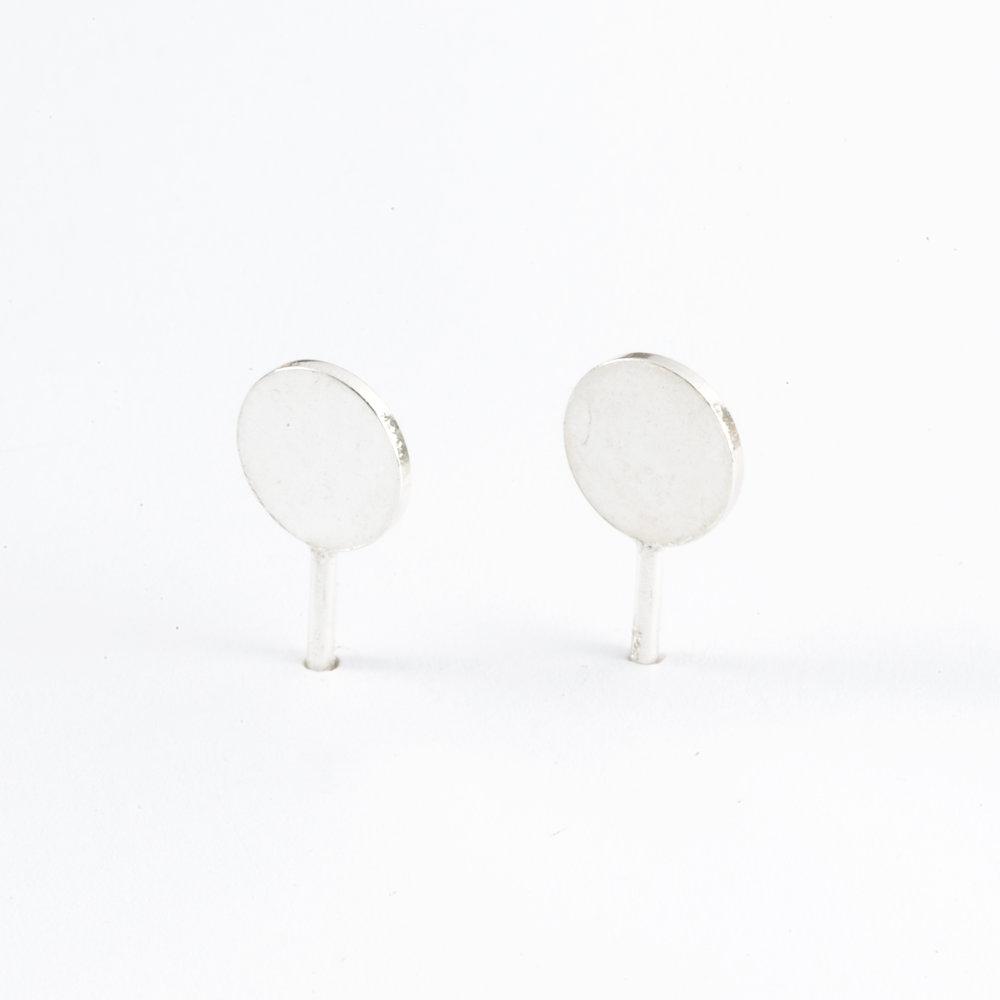 3D Dot 1 Ear Studs