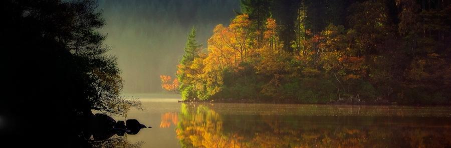 "'The Gap"" Loch Ard"