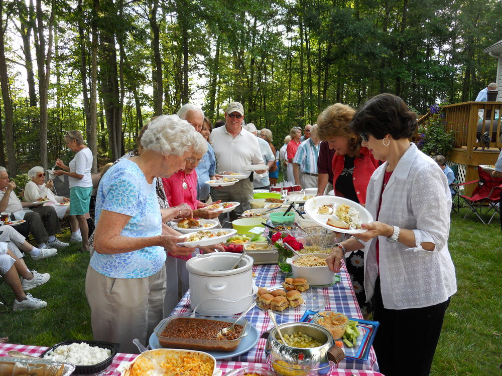 Our annual older adult picnic is one of the highlights of our year.