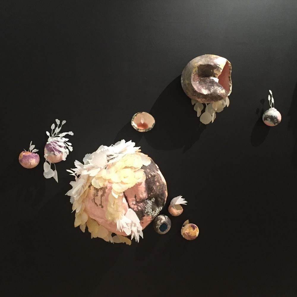 Solastalgic Dream (installation view) by Terri Fidelak, 2015, mixed media, dimensions variable