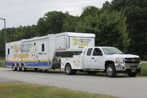 Here comes the NC Lions Vision Van, October 10th!