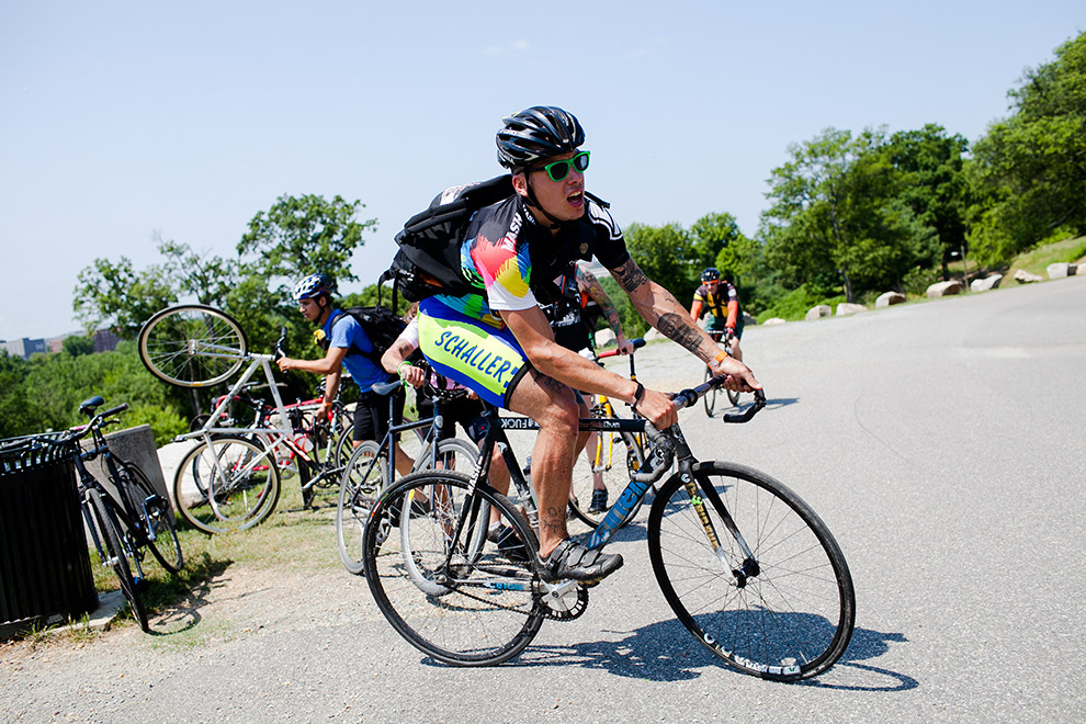Bike messengers from all around the United States met and competed in Richmond, Virginia for the North American Cycle Courier Championships. It was three days of beer, bikes and running red lights.