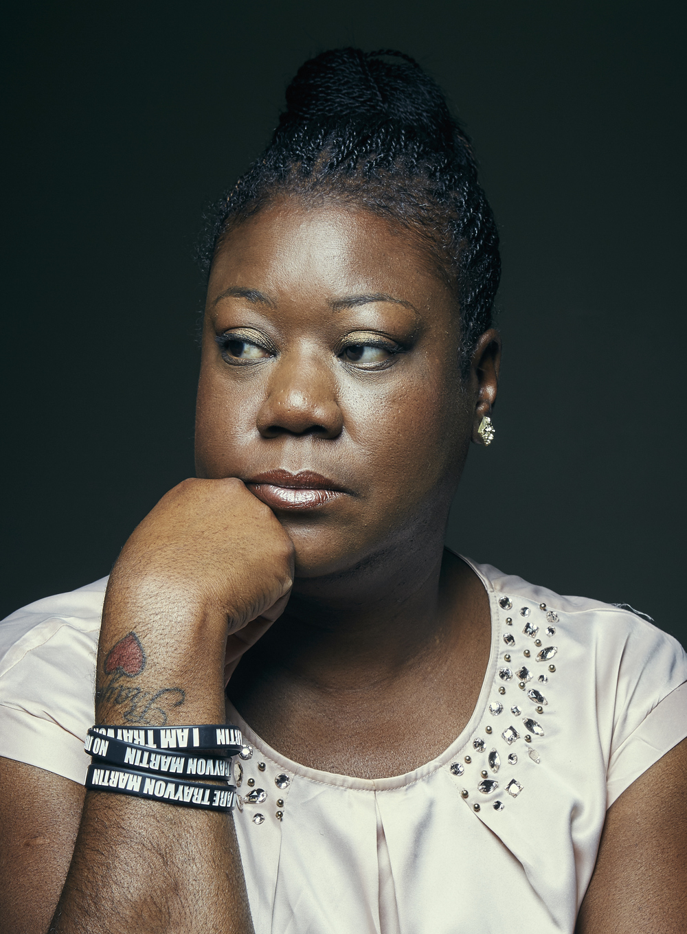 "Sybrina Fulton Mother of Trayvon Martin New York Magazine's ""The Cut"" August 2015"