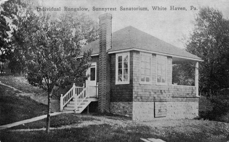 White Haven Sanatorium Individual Bungalow