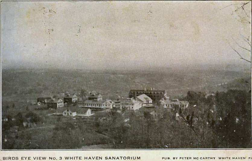 White Haven Sanatorium Birds Eye View