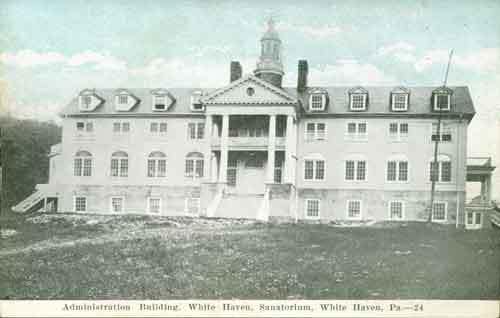 White Haven Sanatorium Administration