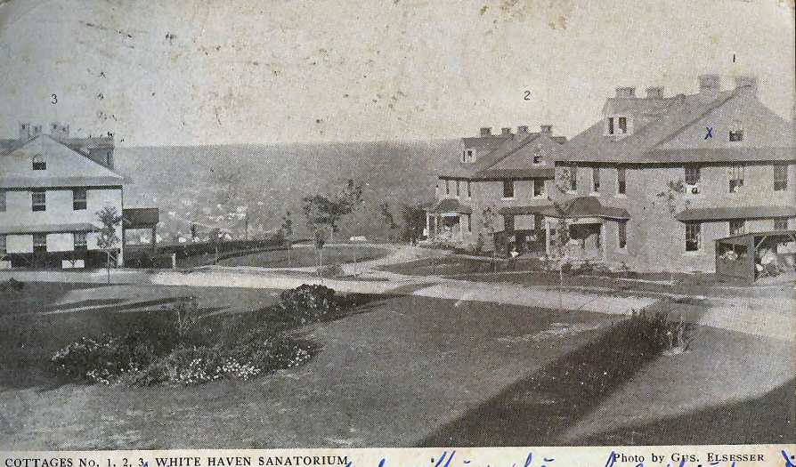 White Haven Sanatorium Cottages 1-3