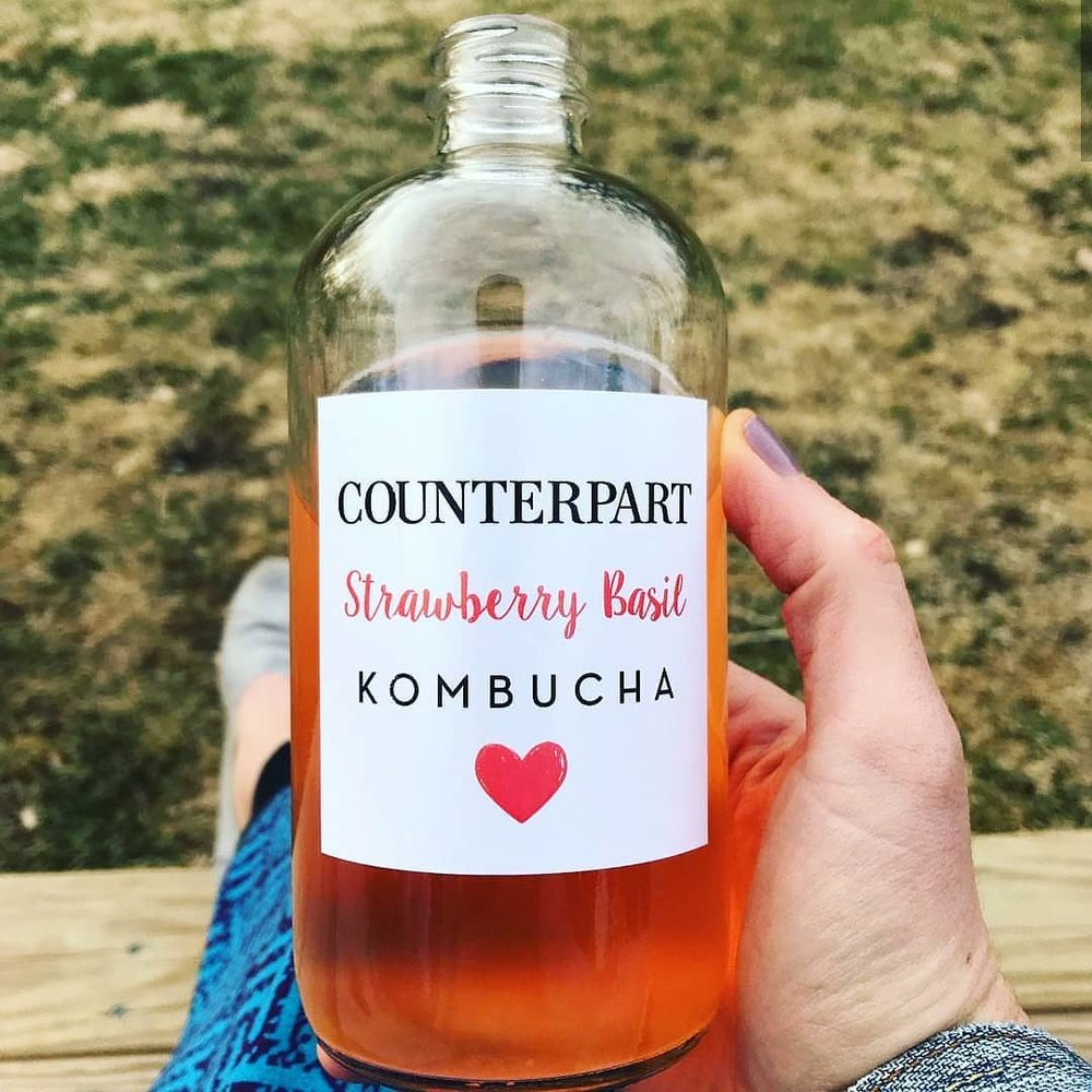 Counterpart Kombucha - A woman owned small but busy business based out of Northeastern Pennsylvania. This beverage company takes great pride in producing the highest quality, traditionally fermented Kombucha.