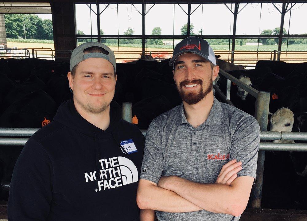 Matt & Connor