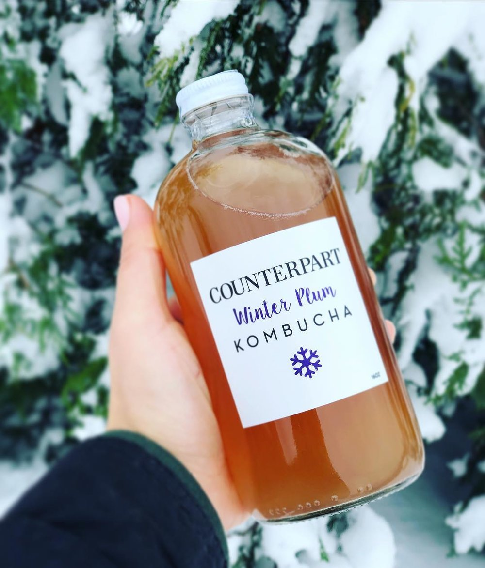Winter Plum Counterpart Kombucha