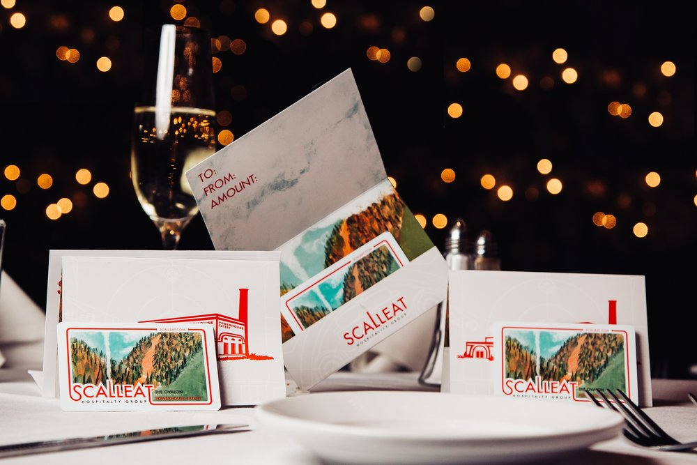 Need to bring the perfect gift too? - The perfect gift for a friend, family member, or colleague in Northeastern Pennsylvania! Our gift cards are redeemable at both of our restaurants.
