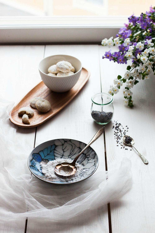 Lavender Cookies | my blue&white kitchen