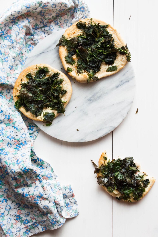 Nettle Flatbread | my blue&white kitchen