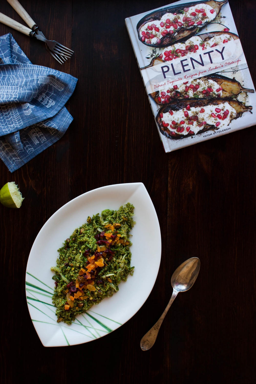 Green Couscous Salad | My Blue&White Kitchen