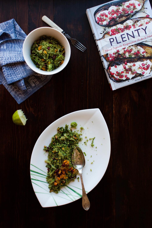 Green Couscous Salad | My Blue&White Kitchen