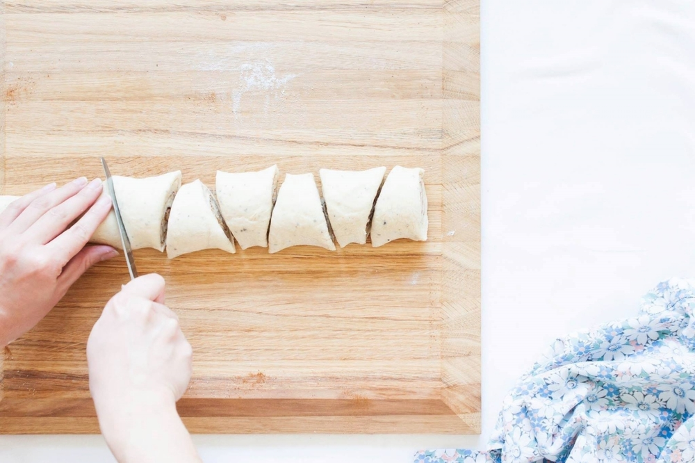 My Blue&White Kitchen   Finnish Cinnamon Rolls