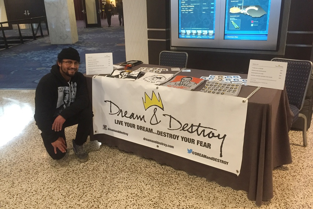 Dream & Destroy Dave at the AFL-CIO Dr. Martin Luther King Jr. Civil and Human Rights Conference