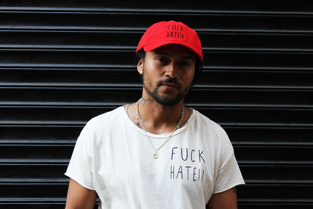 Fuck Hate old dad cap and tee